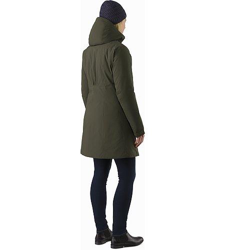 Sylva Parka Women's Caper Back View