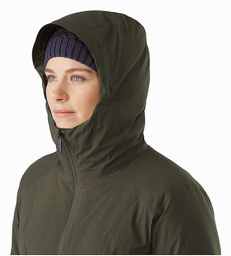 Sylva Parka Women's Caper Hood Side View