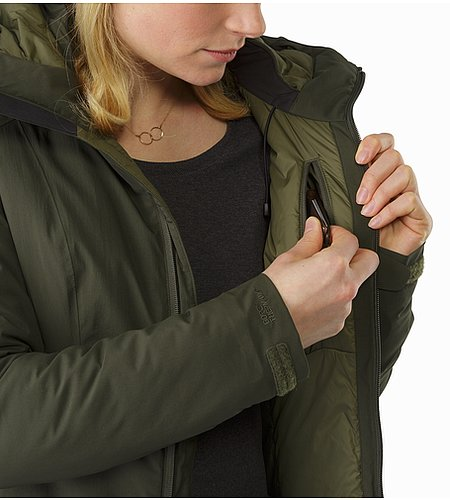 Sylva Parka Women's Caper Internal Pocket