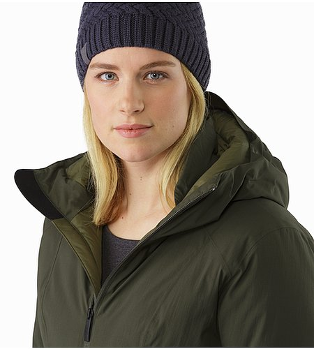 Sylva Parka Women's Caper Open Collar