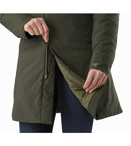 Sylva Parka Women's Caper Two Way Zipper