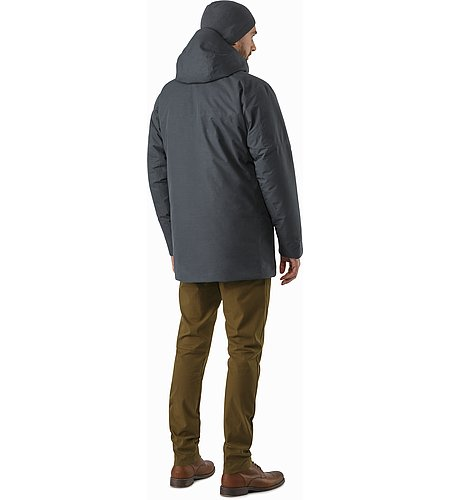 Therme Parka Nighthawk Back View