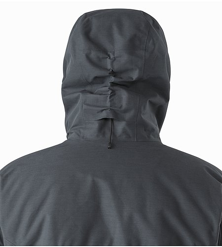 Therme Parka Nighthawk Hood Back View