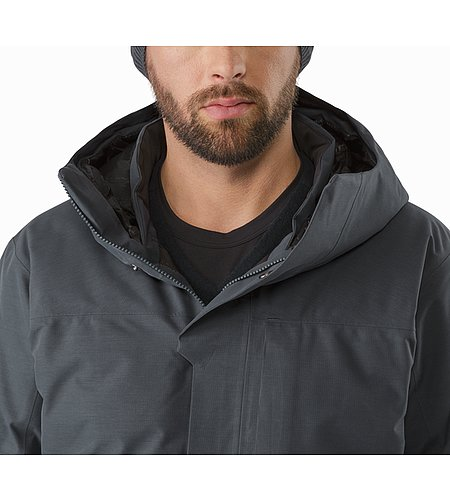 Therme Parka Nighthawk Open Collar
