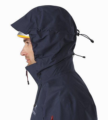 Theta AR Jacket Admiral Helmet Compatible Hood Side View