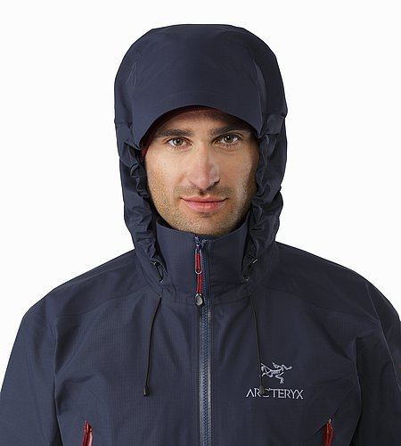 Theta AR Jacket Admiral Hood Front View