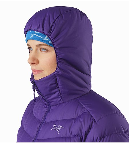 Thorium AR Hoody Women's Azalea Hood Side View 2
