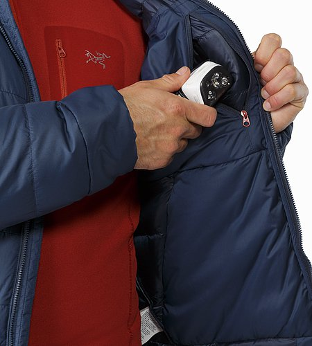 Thorium SV Hoody Admiral Internal Chest Pocket