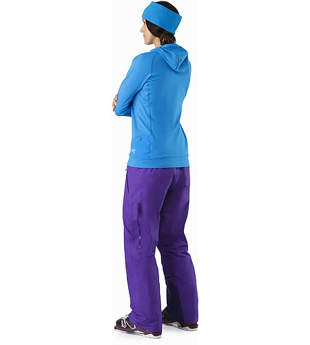 Vertices Hoody Women's Cedros Blue Back View