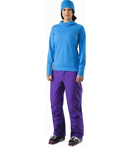 Vertices Hoody Women's Cedros Blue Front View
