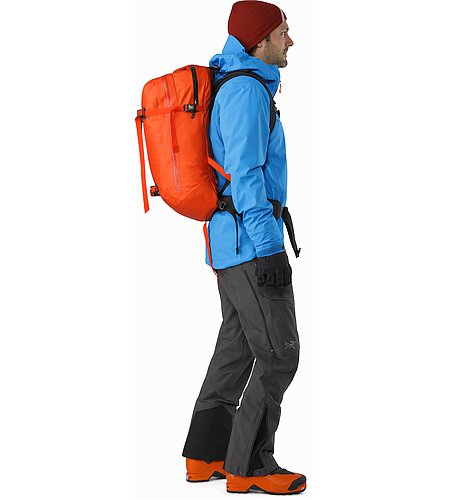 Voltair 20 Backpack Cayenne Side View