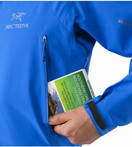 Zeta AR Jacket Rigel Hand Pocket