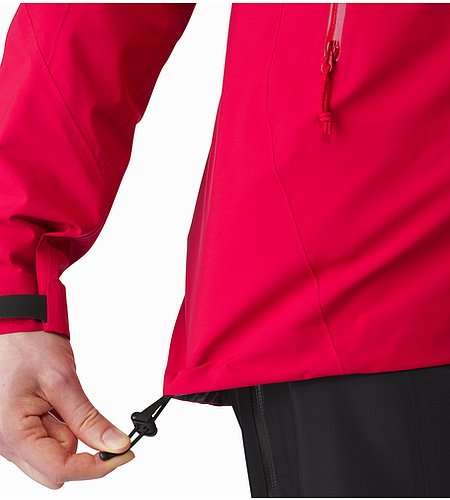 Zeta AR Jacket Women's Radicchio Hem Adjuster