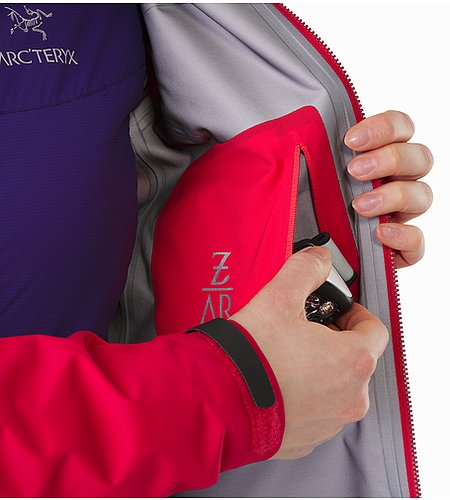 Zeta AR Jacket Women's Radicchio Internal Pocket
