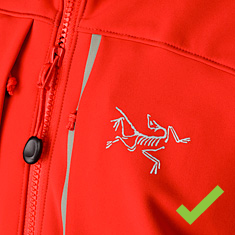 Counterfeit Information | Customer Support Centre | Arc'teryx