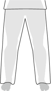 Regular fit pants example