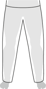 Slim fit pants example