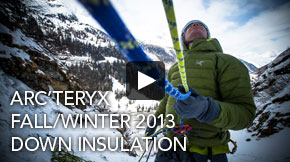 FALL/WINTER 2013 - DOWN INSULATION