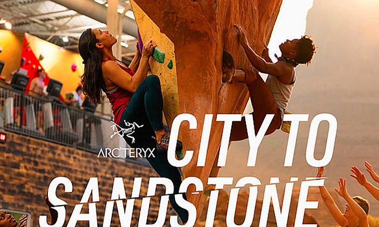 City to Sandstone Arc'teryx